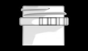 Bague de finition 38mm SWTE (Standard Weight Tamper Evident) pour bouchon à vis