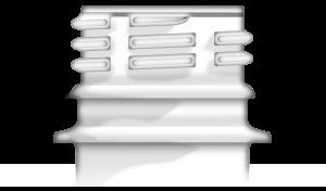 Bague de finition 28mm PCO 1810 (Plastic Closure Only) pour bouchon à vis