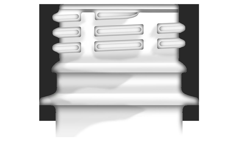 Bague de Finition 28mm PCO 1810 pour bouchon à vis