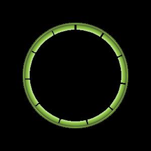 Illustration d'une bande d'inviolabilité pliée - vue de dessus