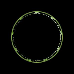 Illustration d'une bande d'inviolabilité à cliquet - vue de dessus