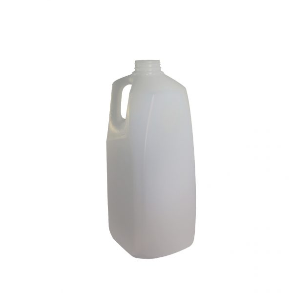 Clear 2 litres (2l)HDPE Jug Bottle with 38mm DBJ Neck Finish