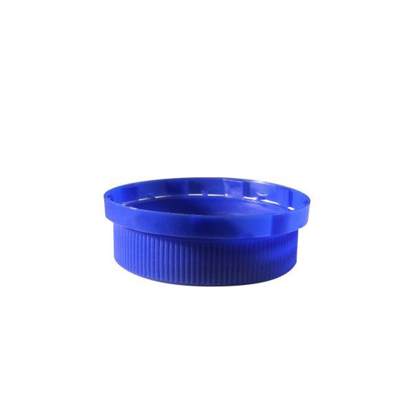 Dark Blue 38mm SWTE (Standard Weight Tamper Evident) Screw Cap Closure Bottom