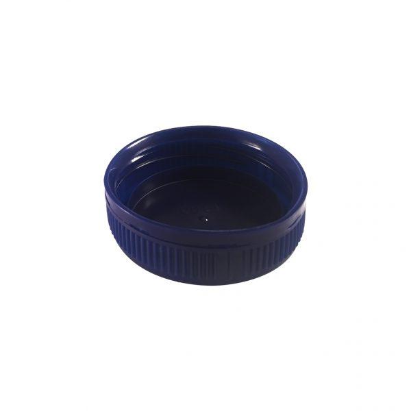 Fermeture Bouchon à Vis Bleu Foncé 43mm 3 Entrées Dessous
