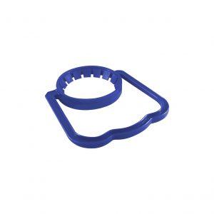 Poignée Bleue Foncée pour Bouteille de Plastique avec Col de 48mm