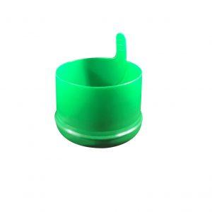 Fermeture Bouchon à Pression Vert Pâle No Spill HOD 55mm Dessous