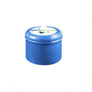 Fermeture Bouchon à Pression Bleu Pâle No Spill HOD 55mm Dessus