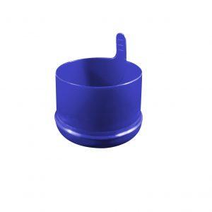 Fermeture Bouchon à Pression Bleu Foncé No Spill HOD 55mm Dessous