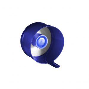 Fermeture Bouchon à Pression Bleu Foncé No Spill HOD 55mm Côté