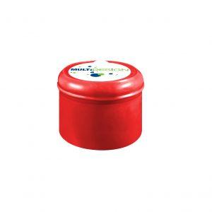 Fermeture Bouchon à Pression Rouge No Spill HOD 55mm Dessus