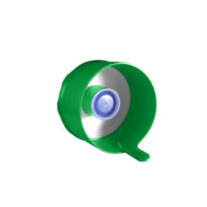 Fermeture Bouchon à Pression Vert Pâle Easy Fit HOD 55mm Côté