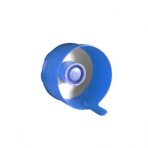 Fermeture Bouchon à Pression Bleu Pâle Easy Fit HOD 55mm Côté