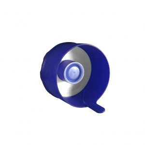 Fermeture Bouchon à Pression Bleu Foncé Easy Fit HOD 55mm Côté