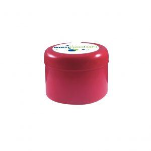 Fermeture Bouchon à Pression Rouge HOD 55mm Jupe Longue Dessus