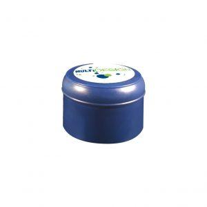 Fermeture Bouchon à Pression Bleu Foncé HOD 55mm Jupe Courte Dessus