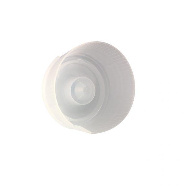 Fermeture Bouchon à Pression Transparent Naturel HOD 55mm Sans Doublure Côté