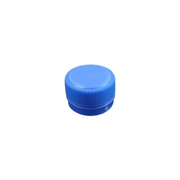 Fermeture Bouchon à Vis Bleu Pâle 28mm PCO 1810 Dessus