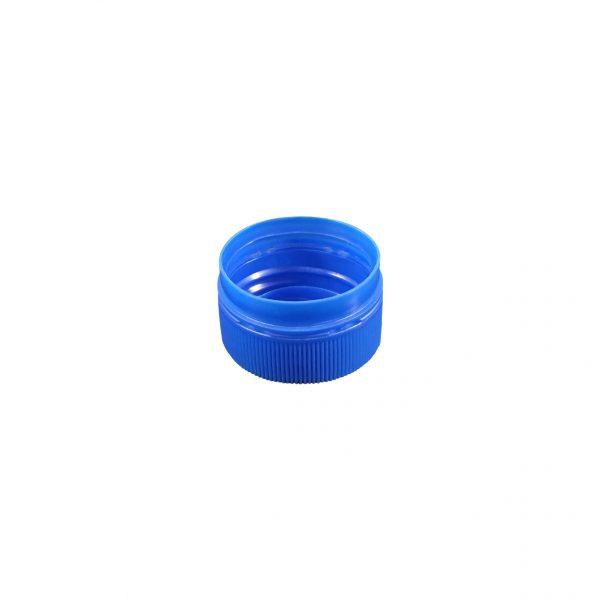Fermeture Bouchon à Vis Bleu Pâle 28mm PCO 1810 Dessous
